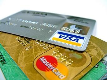 creditcards van visa en mastercard